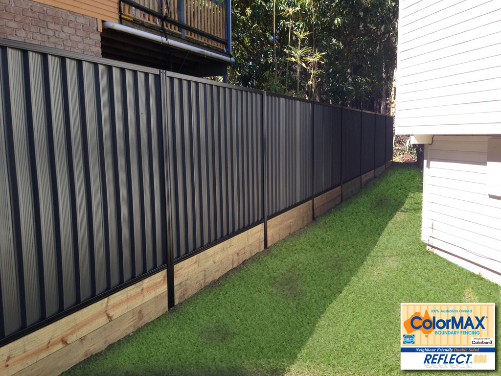 Colormax 174 Boundary Fencing Manufactured From Colorbond 174